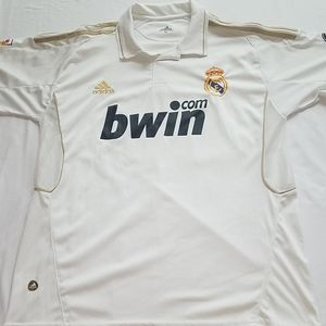 Real Madrid FC Adidas Soccer Jersey